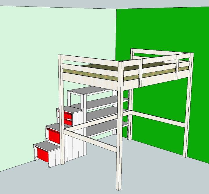 MAMMEONLINE • Leggi argomento - Progetto cameretta fai-da-te (hackeraggio letto Stora Ikea)