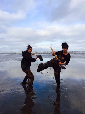 Washington Coast Razor Clam Digging