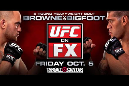 UFC on FX 5 Travis Browne - Antonio Silva (05.10.2012) PL.TVRip.XviD / PL