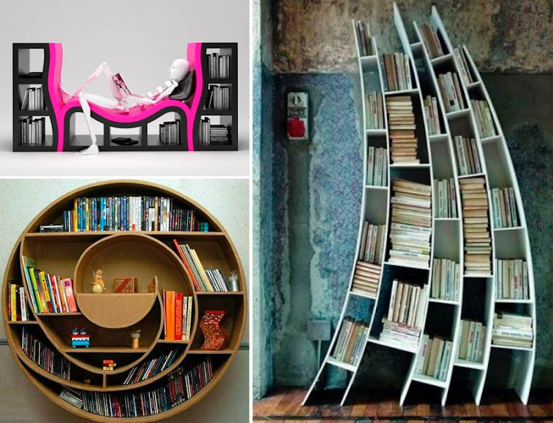 more info bookshelves with a bench ellipse book case and saba italia bookcases - Weird Bookshelves
