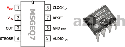 How Does A Crystal Work in addition Ic Msgeq7 Seven Band Graphic Equalizer 11 additionally M38023 further How Do I Use A Quartz Crystal In An Oscillator together with 251640866687. on crystal resonator datasheet