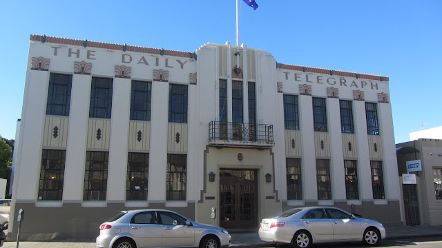 The Daily Telegraph Newspaper building. It has now been converted into a real estate office.
