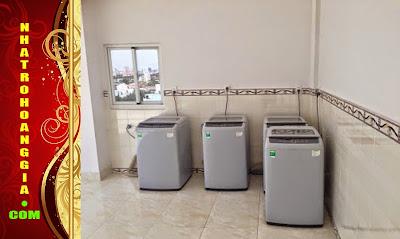 Nhà trọ Hoàng Gia 1102 Huỳnh Tấn Phát, Phường Tân Phú, Quận 7, Tp.HCM có thang máy, đầy đủ tiện nghi, cực kỳ an ninh và mức giá sinh viên