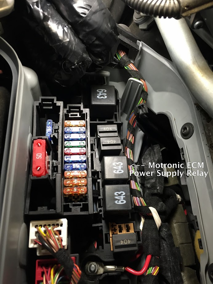 Quattroworld Com Forums Agreed Check The Ecm Relay Its In A Relay Fuse Panel B Sb Under The
