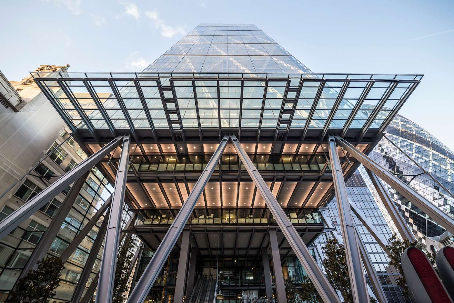 Londra, Regno Unito: [THE LEADENHALL BUILDING BY ROGERS STIRK HARBOUR + PARTNERS]