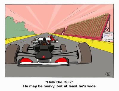 Нико Хюлькенберг - Халк – Здоровяк - комикс Stuart Taylor по Гран-при Кореи 2013
