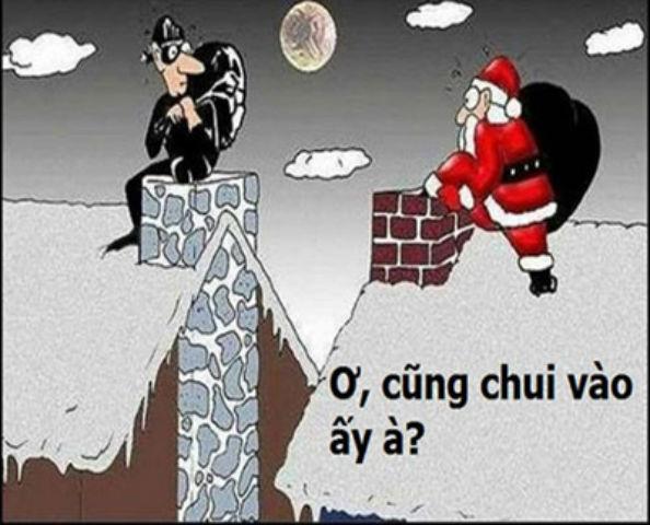 Ông già Noel gặp trộm đêm giáng sinh