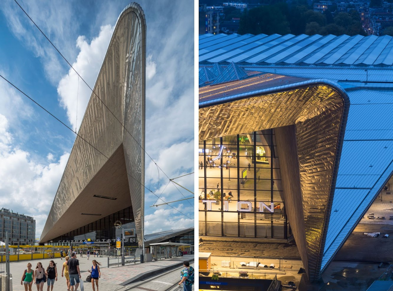 Rotterdam Central Station by Team CS