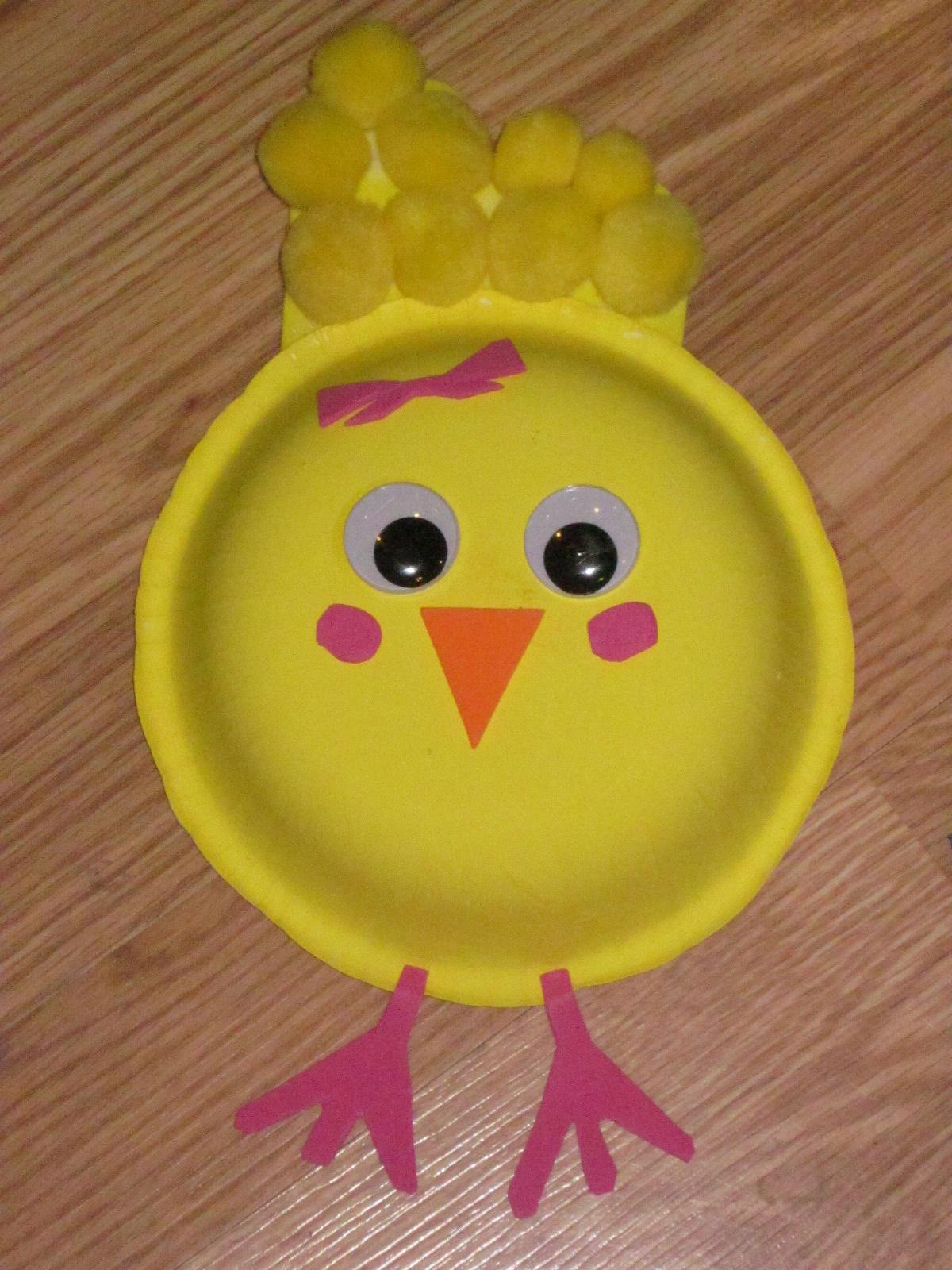 Поделки из пластиковых тарелок в детском саду