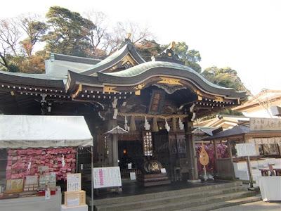 江島神社辺津宮