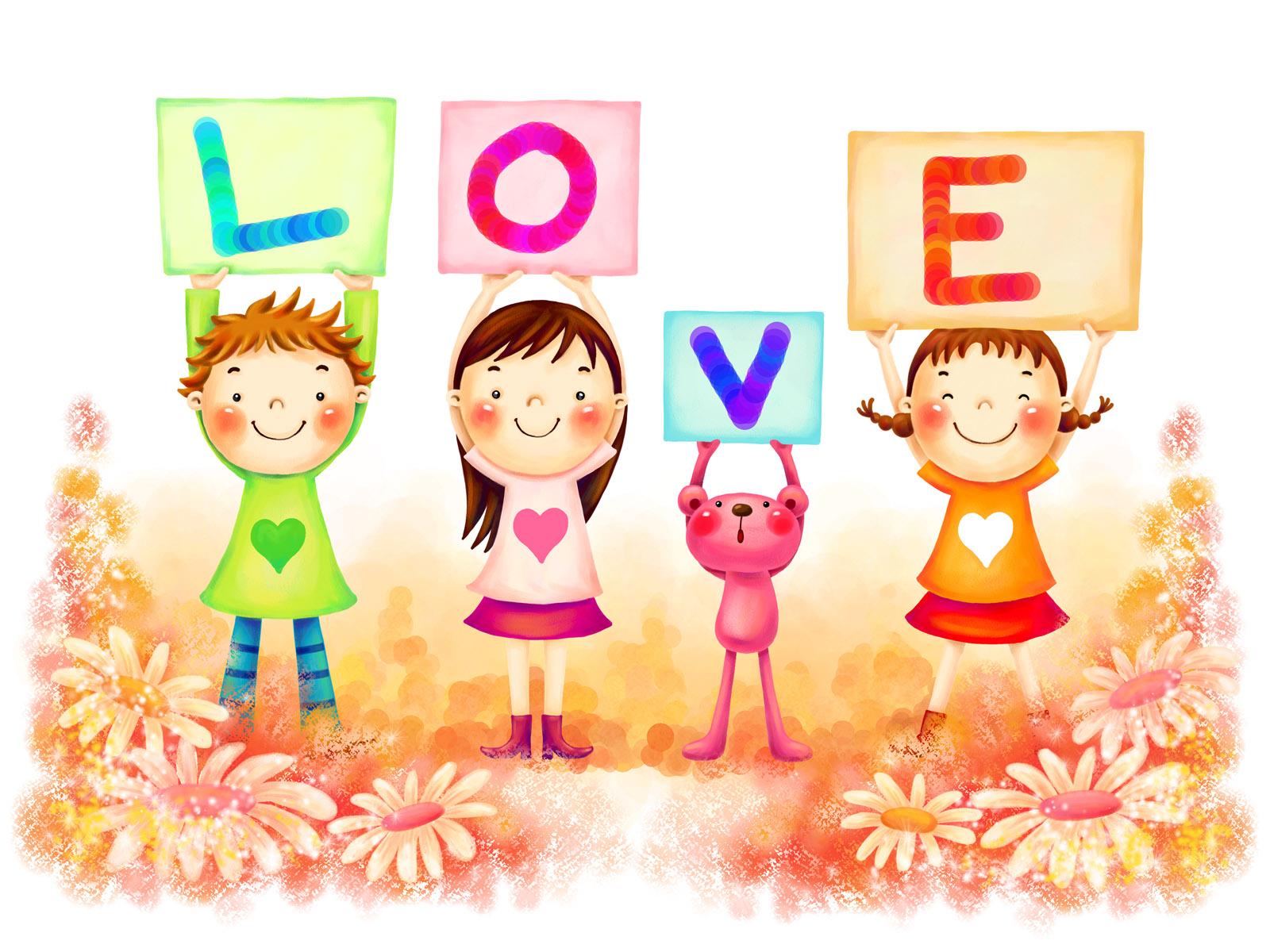 Imagenes De Amor Infantiles - Imágenes para niños 365 Imágenes bonitas
