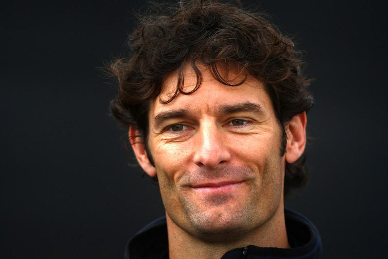 обаятельная улыбка Марка Уэббера на Гран-при Бельгии 2011 в Спа