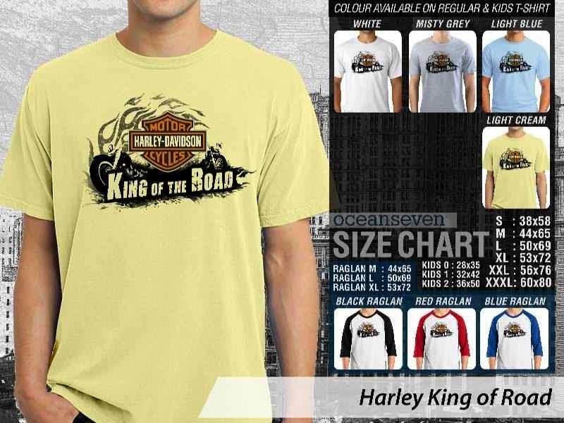 KAOS Harley Davidson 6 Logo Motor distro ocean seven