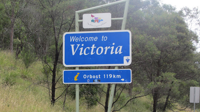 Entering Victoria.