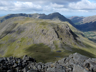 Kirk Fell and Pillar from Great Gable