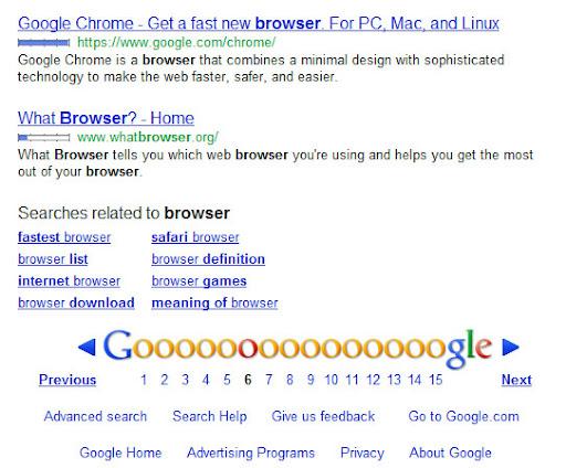Chrome terkena pinalti karena paid content