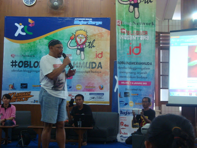 #OblongMerahMuda HUT ke 4 Blogger Ngalam | PamanTyo