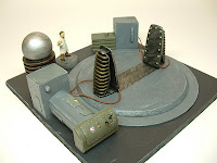 Teleportation prototype Mad Science war game terrain and scenery