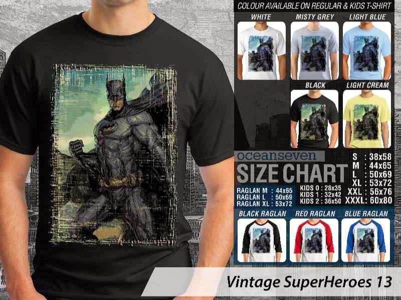KAOS Batman Vintage distro ocean seven
