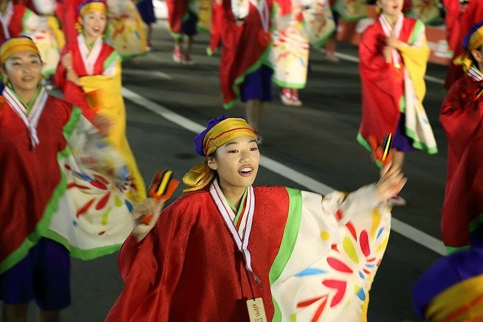 第60回よさこい祭り☆本祭2日目・升形地域競演場31☆上2目2621