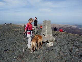 Jo at the summit