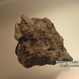 名牌上寫著:愚人金 (黃鐵礦) Fool's Gold (Pyrite)