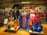 The Loft department store's Halloween costume display