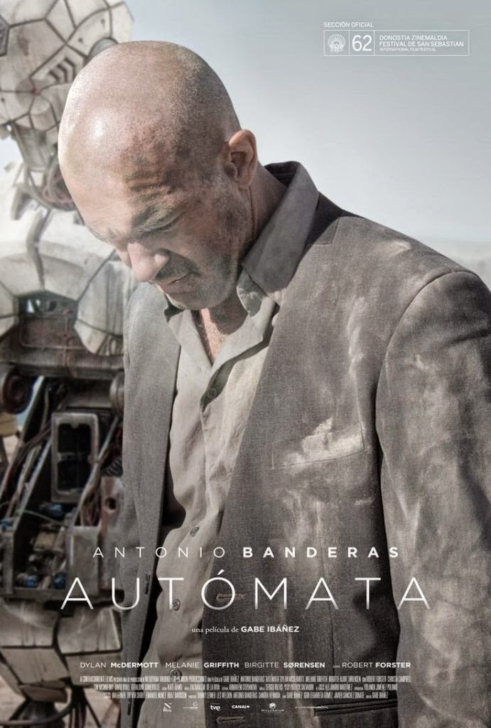 Autómata (2014) BRRip 300MB Dual Audio Hindi Eng