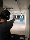 I shot a gun for the first time at the Silver Bullet gun range