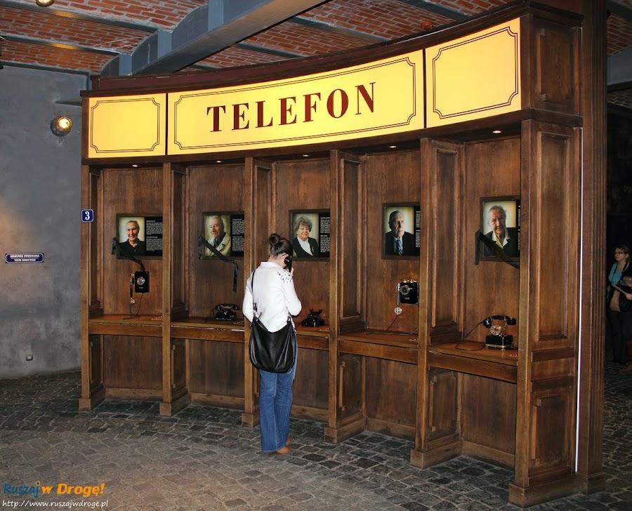muzeum powstania warszawskiego - rozmowy telefoniczne z powstańcami