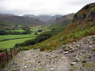 A rocky ascent
