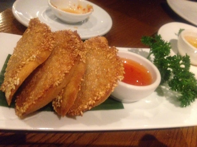 Prawn Toast at Thai Square, London