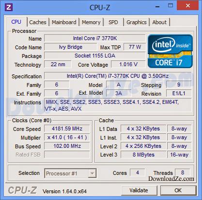 CPU-Z 1.78