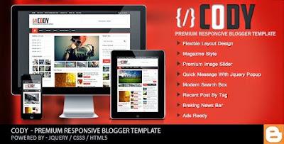 Cody blogger templates