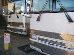 Tour busses get special privaleges