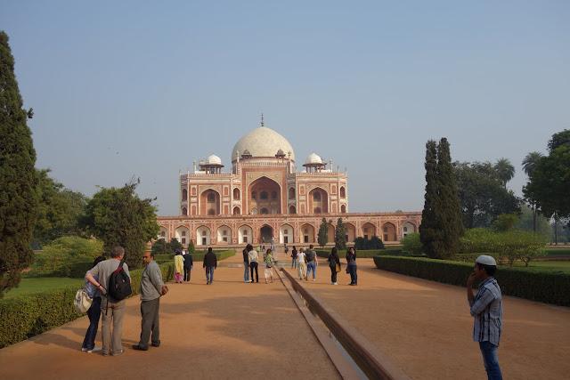 """Humayun's Tomb in Delhi is often called the """"Mini Taj Mahal."""""""
