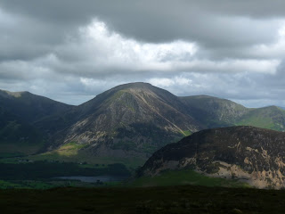moody Grasmoor and Mellbreak.