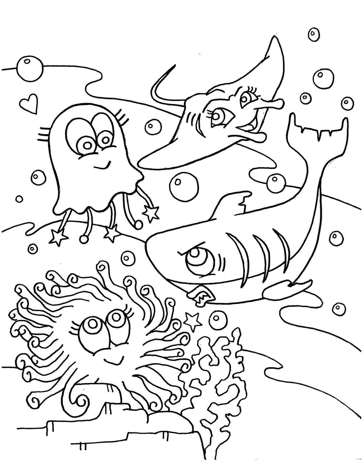 printing coloring pages of animals - Free Animals and Baby Animals Coloring Pages to Print and