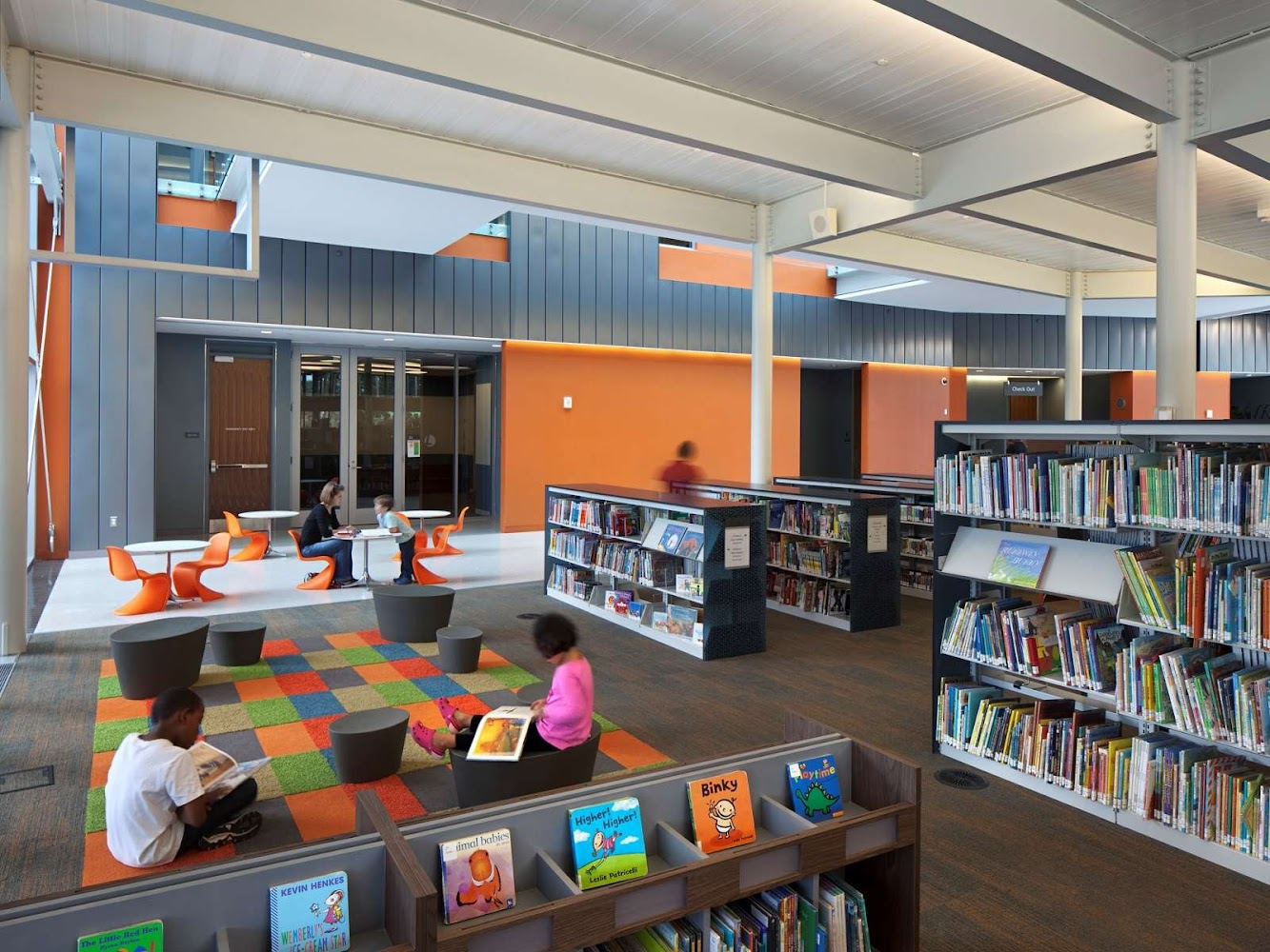 Tenley Friendship Library by the Freelon Group Architects