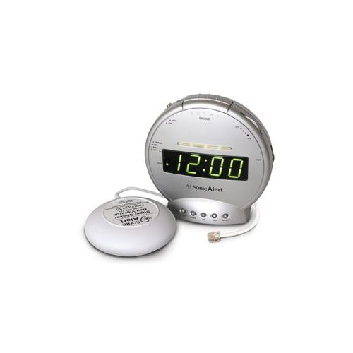 Sonic Alert New Sonic Alert BOOM Vibration / Light notification Alarm Clock SBT425SS at Sears.com