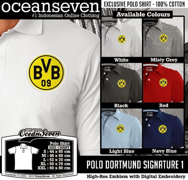 POLO Borussia Dortmund Signature distro ocean seven