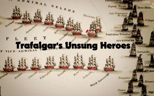 Nieznani bohaterowie Trafalgaru / Trafalgar's Unsung Heroes (2009) PL.TVRip.XviD / Lektor PL
