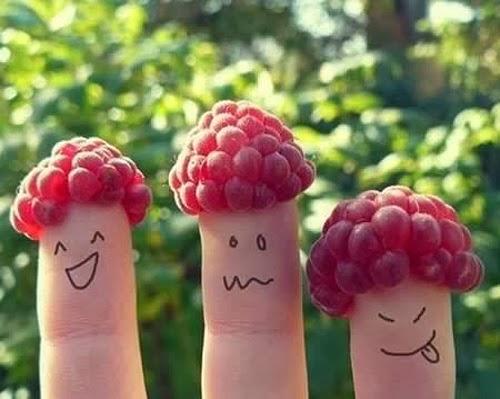 Tạo hình ngón tay cute