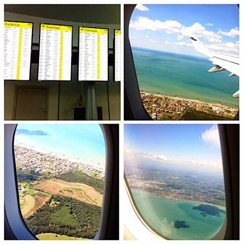 airport, lentokenttä, rooma, italia, italy, roma, rome, leonardo da vinci, fiuminico, finnair, airplane, aircraft, blue sea, sea, landscape, view, maisema, meri,
