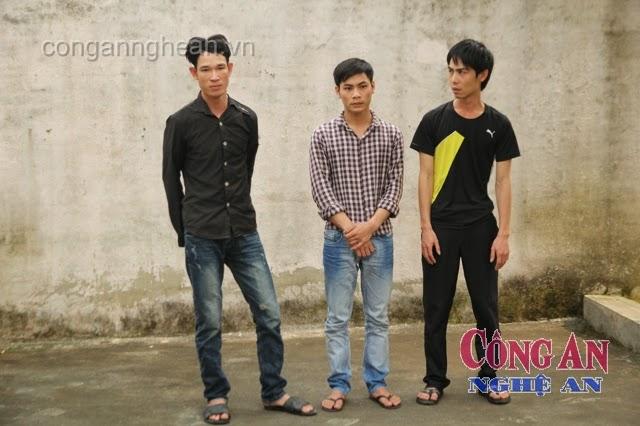 Ba đối tượng bị bắt giữ