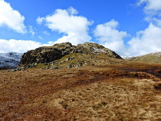 Calf Crag Summit rocks