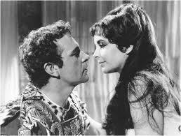 Elizabeth Taylor  con Richard Burton