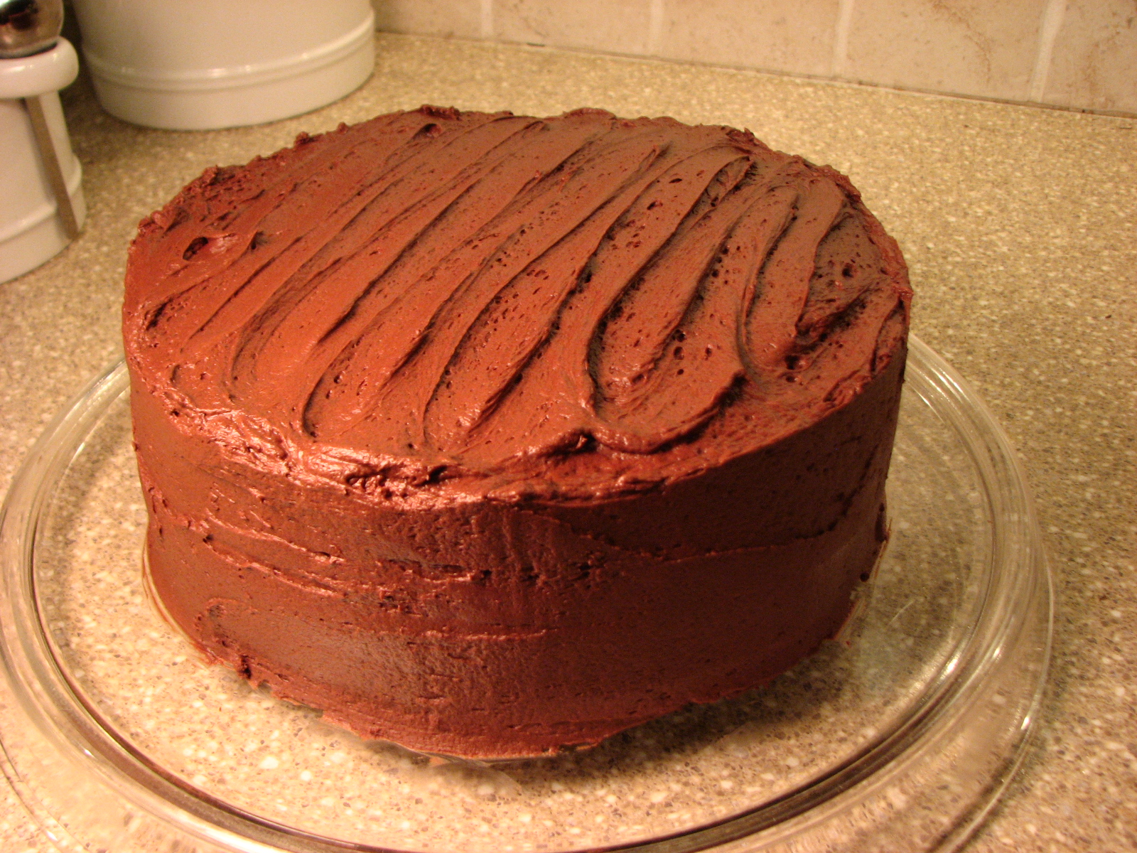 Old Fashioned Chocolate Cake - The Kitchen Magpie 77