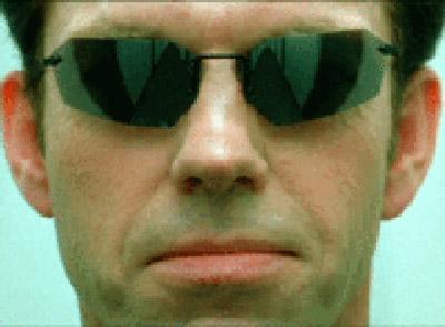 Агент Смит из Матрицы