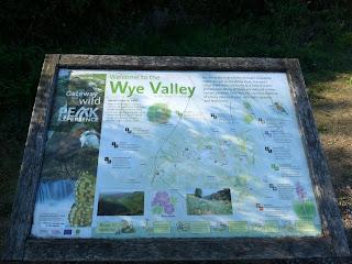 The Monsal Trail runs through the Wye Valley